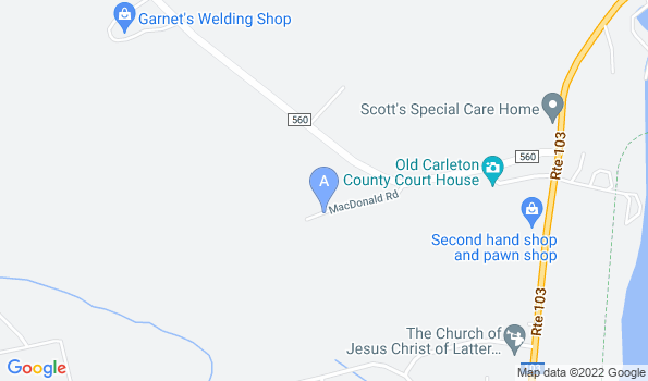 Street map of Saint John Valley Veterinary Services Inc.